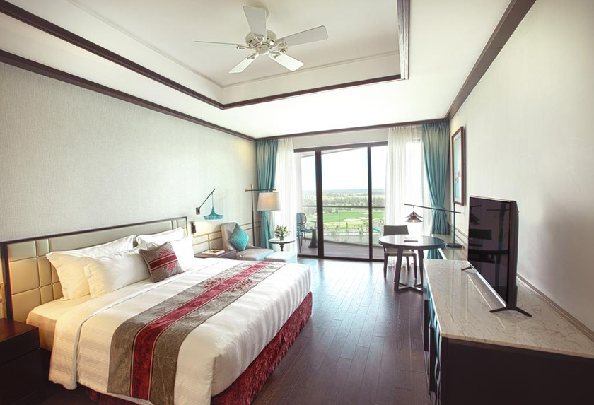 Phòng Deluxe Room Vinpearl Nam Hội An