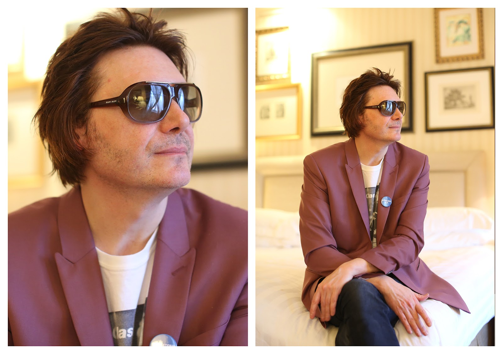 A Fancy Hotel First Date with Nicky Wire of Manic Street Preachers ...