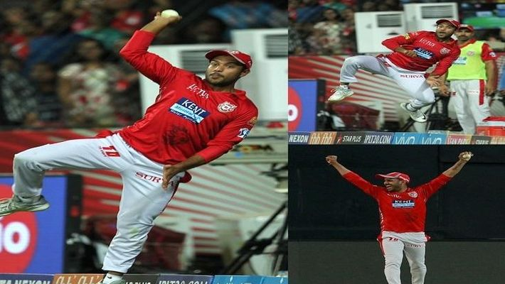 Manoj Tiwary IPL catches