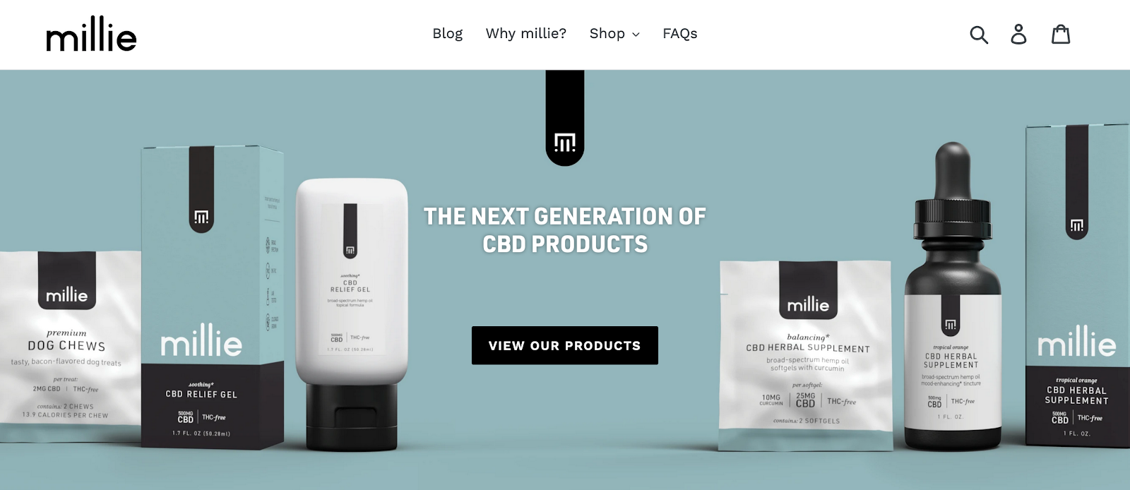 Millie | Next Generation CBD Products