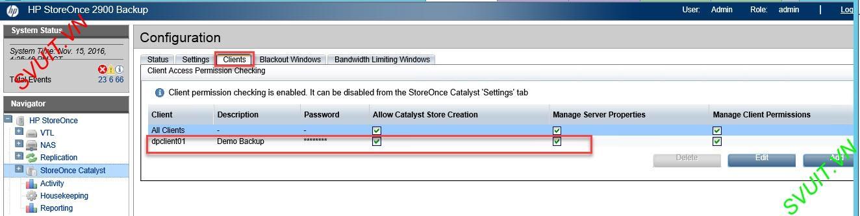 HP Data protector backup D2D HP StoreOne (1)