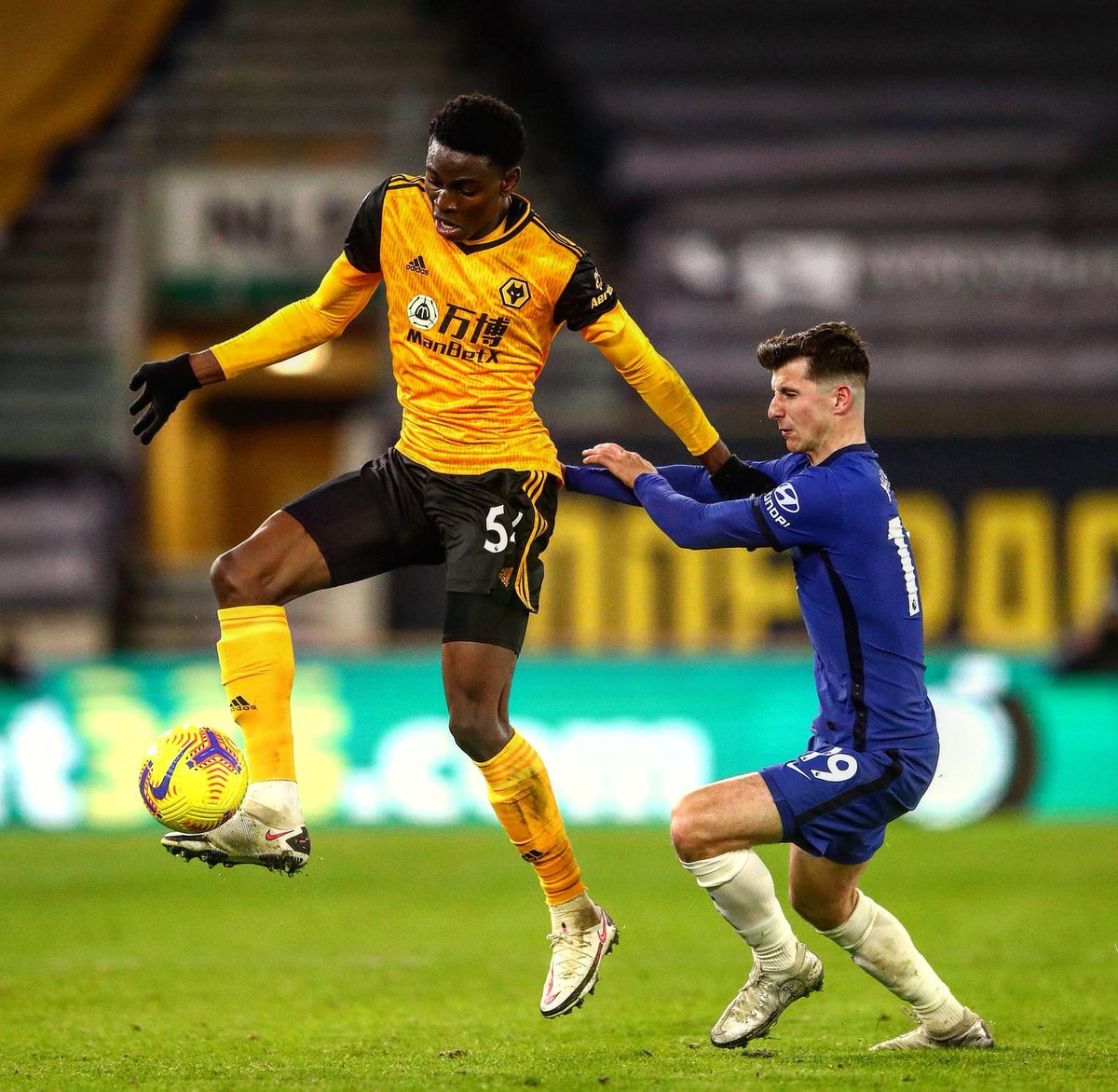 """Football Tweet on Twitter: """"Owen Otasowie. 19-years old. Born in New York.  Came on to make his Prem debut for Wolves tonight and he more than  impressed against Kanté and co. At"""