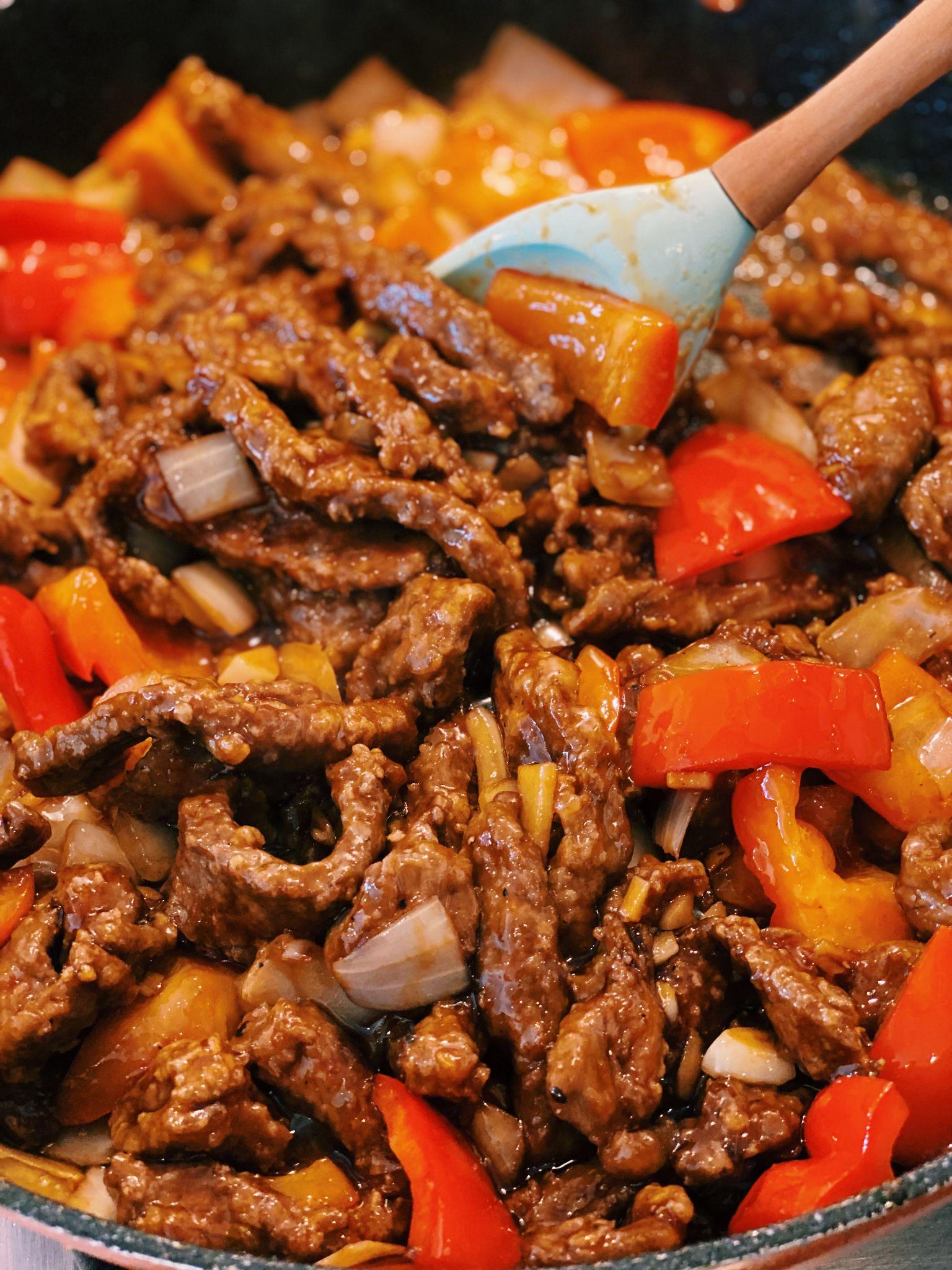 Beijing Beef (TENDER BEEF!)