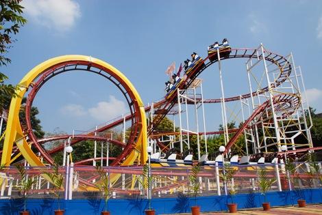 Roller Coaster in Essel World Mumbai