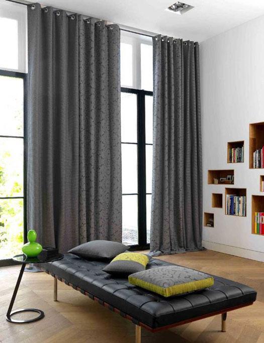 Rèm dành cho cửa sổ với nhà hướng Nam