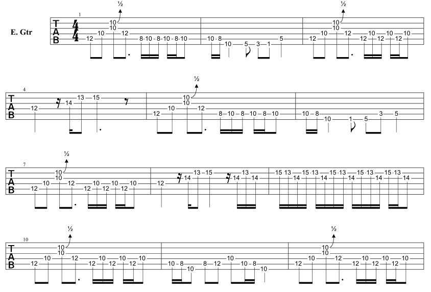 how to play going to california guitar