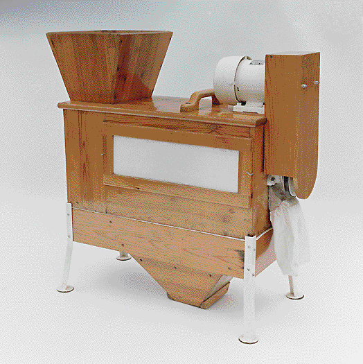 azo's first cyclone screener from 1949