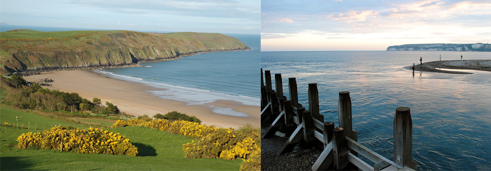 Stunning beaches in Devon which are ready for you to explore when you book your holiday direct with Devon Farm Holidays.