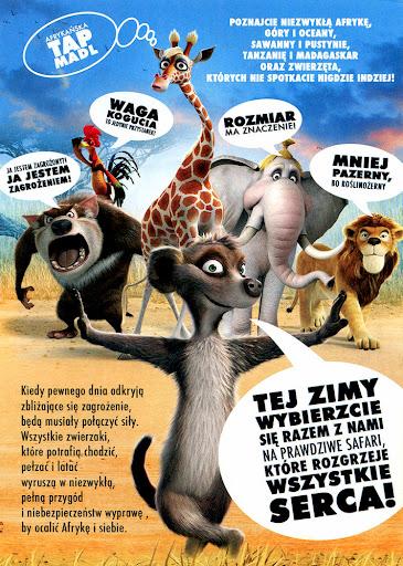 Tył ulotki filmu 'Safari'