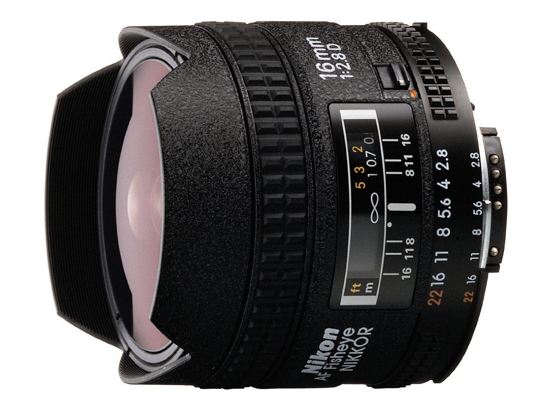Nikon 16mm f / 2.8 AF Fisheye