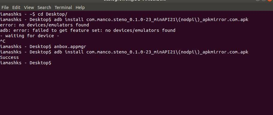 Install Android apps in Anbox on Linux