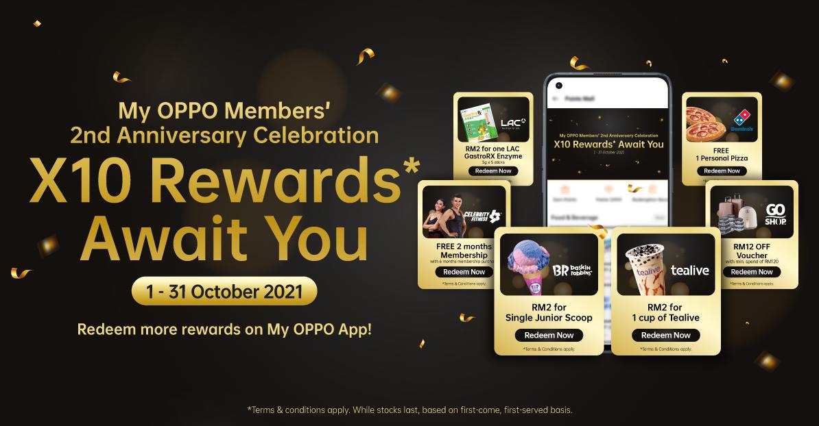 My OPPO Members' 2nd Anniversary Celebration
