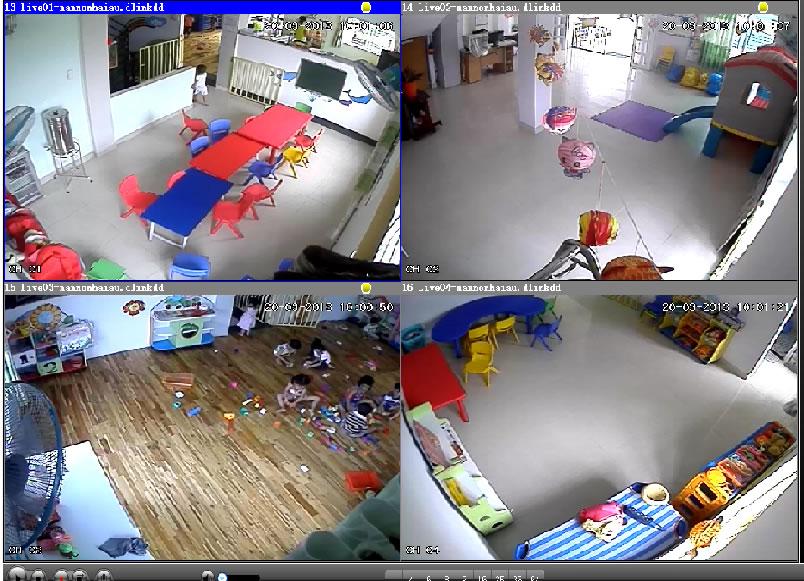 Lắp đặt camera cho nhà trẻ giúp phụ huynh giám sát hoạt động vui chơi của bé hiệu quả