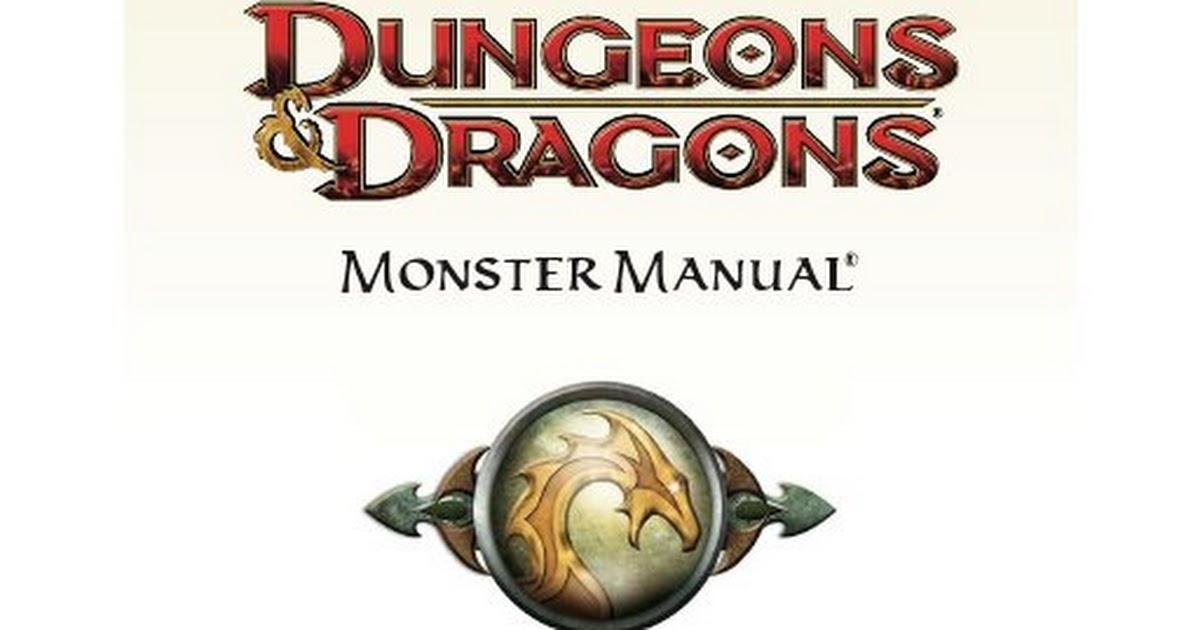 d&d 4e monster manual pdf