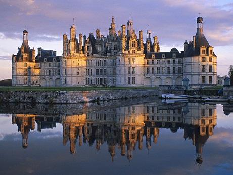 Chambord Castle, Perancis