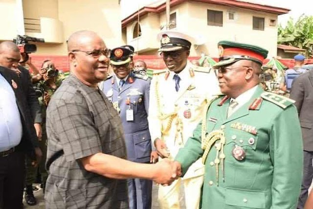 GOVERNOR WIKE TO ARMED FORCES : HEAVEN AND NIGERIANS WILL NEVER HONOUR  THOS INVOLVED IN ELECTION RIGGING