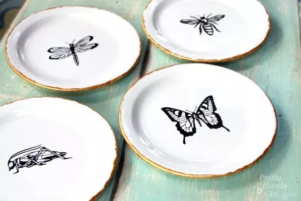 Decorative Plates: These ideas will help you save money and transform your space.
