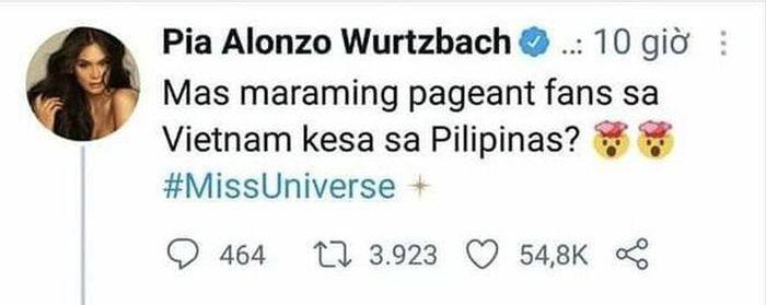 Hoa hậu Philippines thừa nhận sai vì 'trót' nghi ngờ giải vote của Khánh  Vân - Báo Tổ Quốc