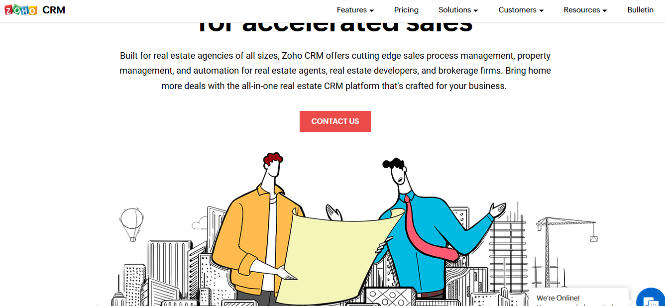 Zoho CRM for Real Estate