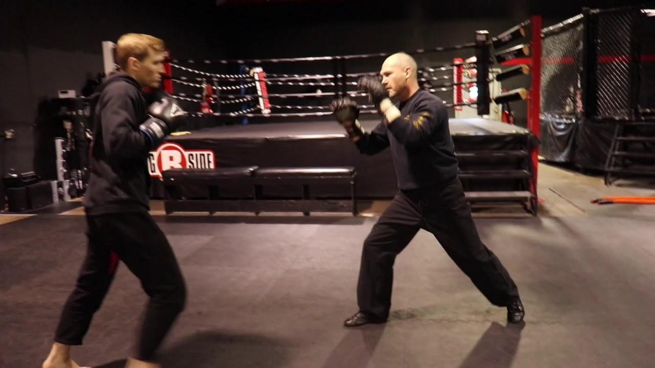 Working Trapping Into Your Sparring - YouTube