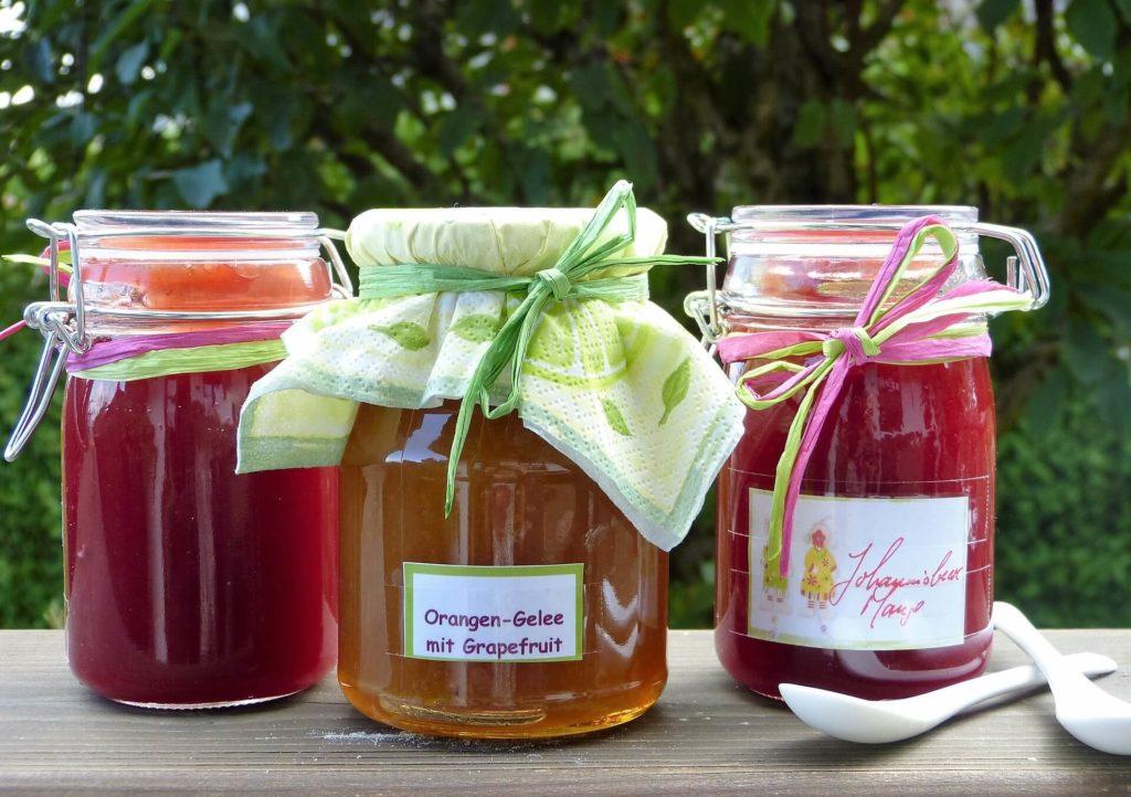 Jam manufacture