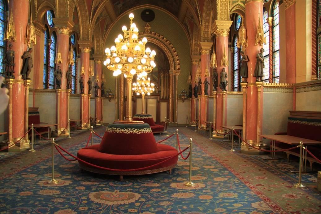 парламент венгрии внутри