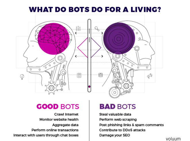 What do bots do for a living?