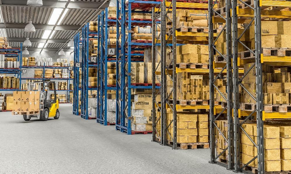 diseño espacios almacén logístico