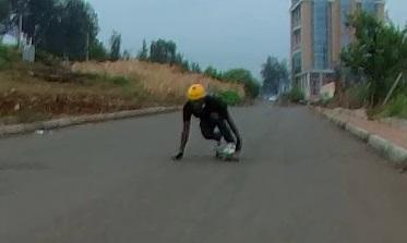 toeside grab rail