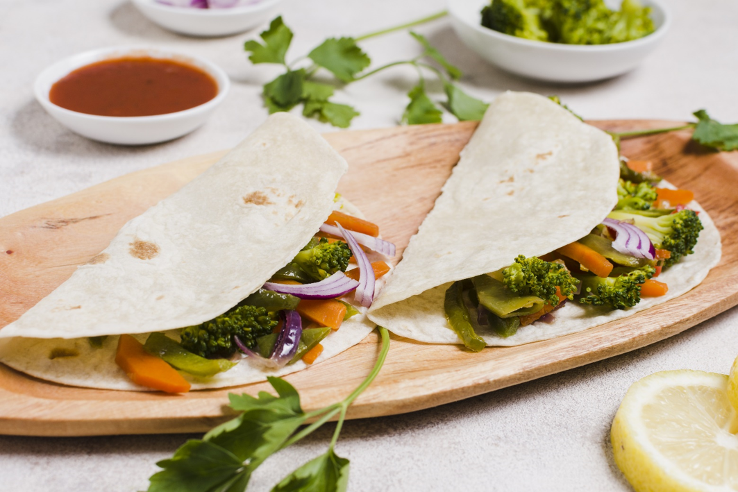 Broccoli wraps