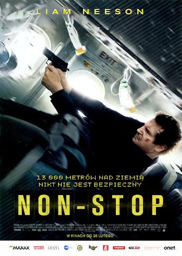 Przód ulotki filmu 'Non-Stop'