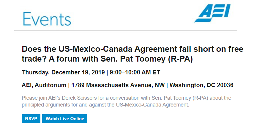 American Enterprise Institute two clear CTA examples