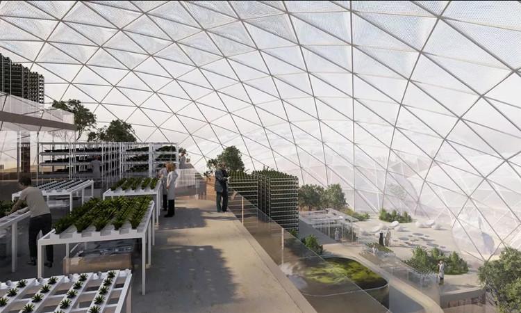 UAE lên kế hoạch để những người giả định cư trên sao Hỏa sống một năm trong thành phố.