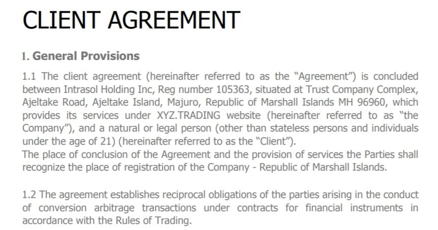 Отзывы о XYZ Trading: что думают трейдеры о брокере? обзор