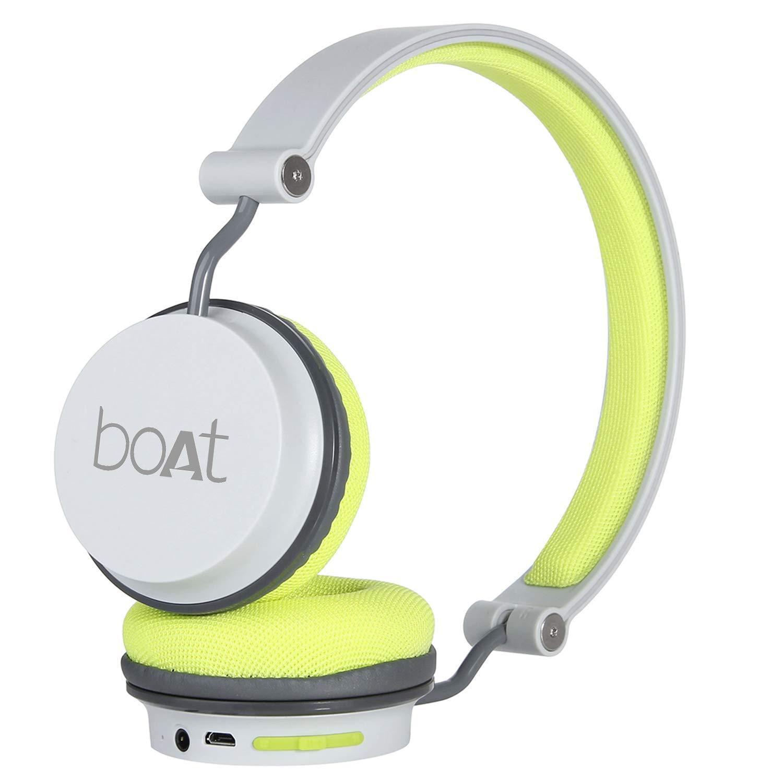 boAt Super Bass Rockerz 400 Bluetooth On-Ear Headphones