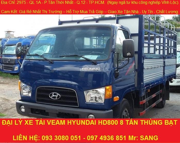 Bán xe hyundai 8 tấn thùng dài 5m1, xe tải hyundai 8 tấn mới nhất.