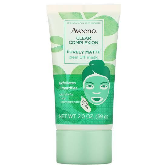 Best Drugstore: Aveeno Clear Complexion Purely Matte Peel Off Face Mask