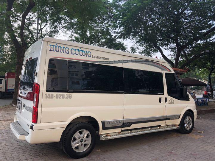 Xe Hùng Cường Limousine từ Hà Nội đi Quảng Ninh