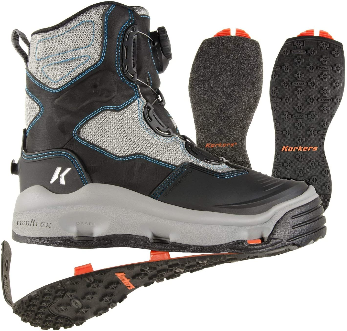 Korkers Women Boots- Best Hiking wading Shoes for Women