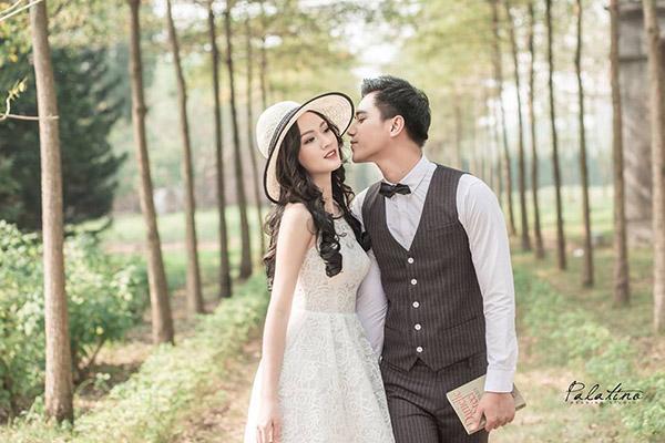 chụp ảnh cưới ở biệt thự hoa hồng rose valley