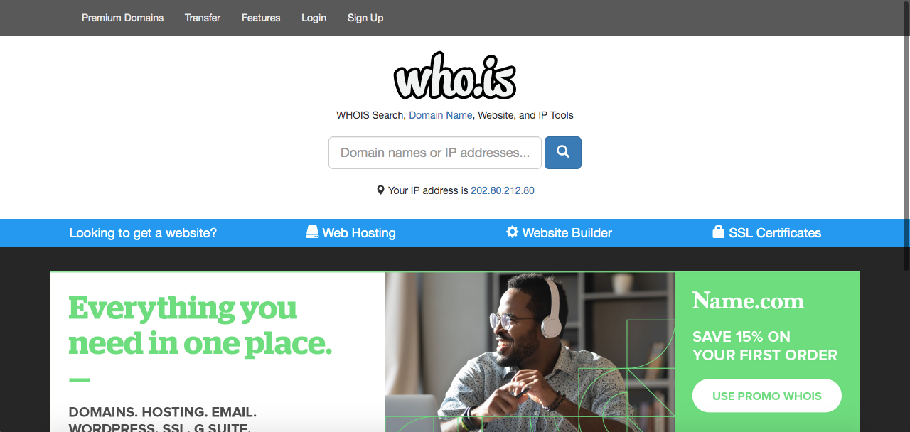 Cara Cek Domain dengan WHOIS
