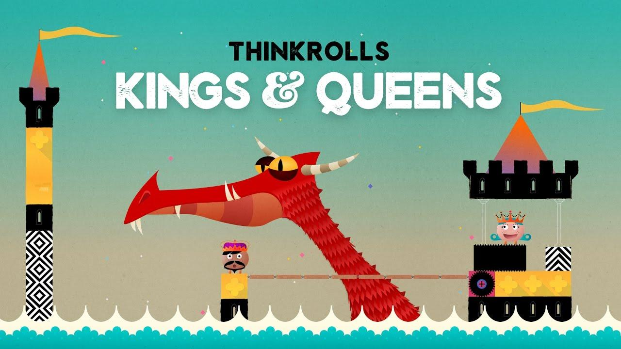 Thinkrolls: Kings and Queens - One of the Best Gaming Apps for Pre-Schoolers According to Craig Grannell