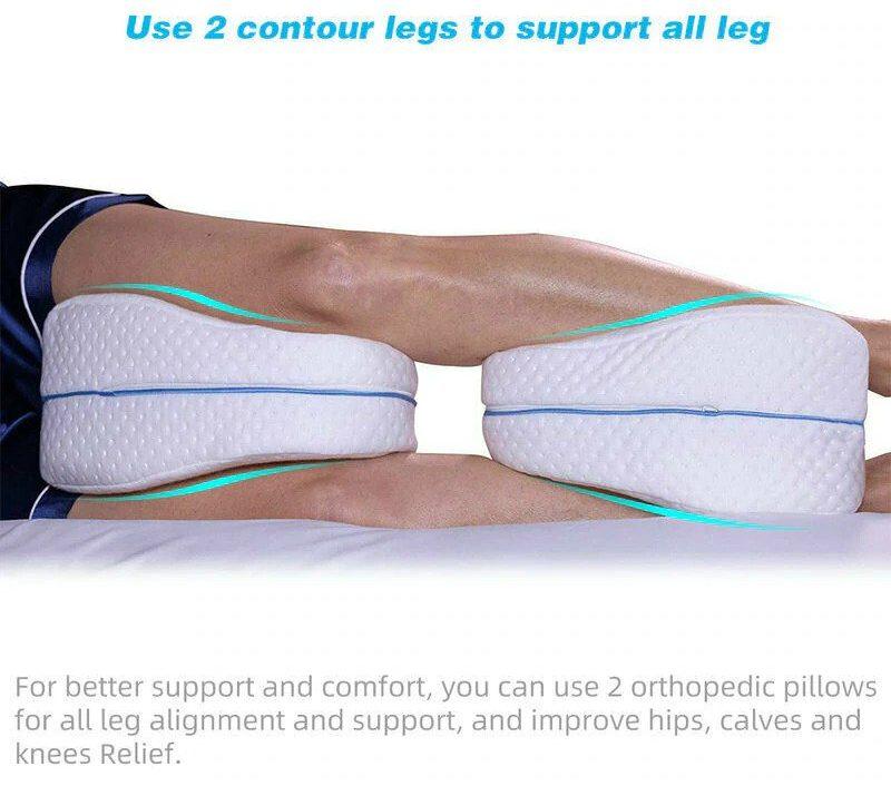 Orthopedic Knee Pillow With Memory Foam