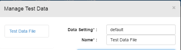 default data setting
