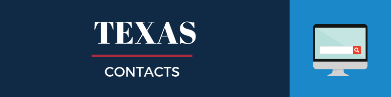 Texas Sales Tax Contacts
