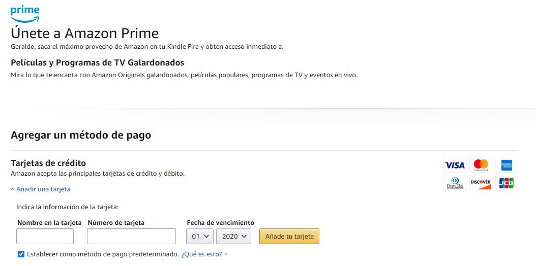 """Si estás en Latinoamérica y quieres hacer el registro en Amazon Prime desde la web, automáticamente todo el procedimiento lo haces dentro de la tienda digital de Amazon. Ahí debes buscar a Amazon Prime y hacer clic en """"Empieza Ahora""""; seleccionas tu plan, y luego escribirás los datos de tu Tarjeta Virtual Airtm."""