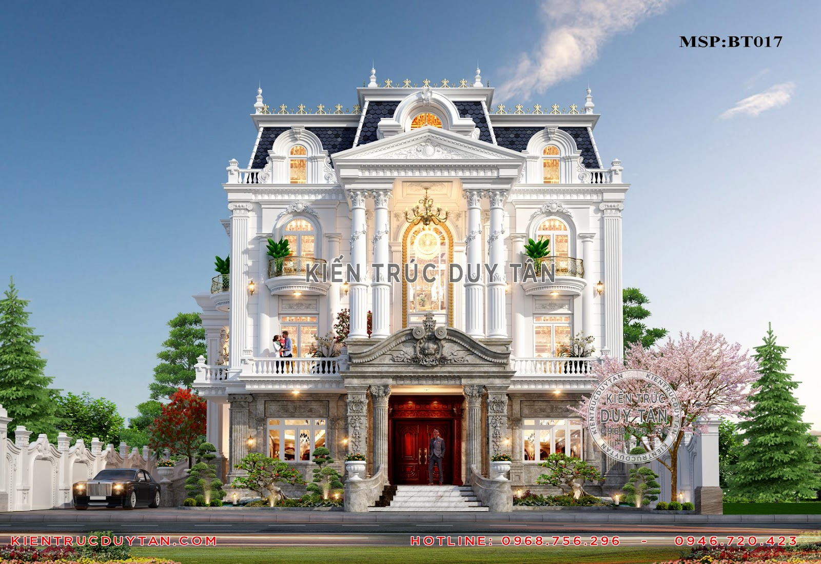 Quy trình và hồ sơ thi công biệt thự đẹp tại kiến trúc Duy Tân