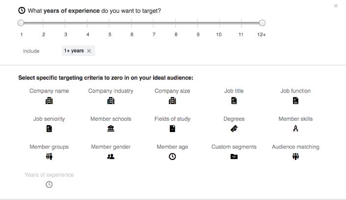 LinkedIn Audience Targeting