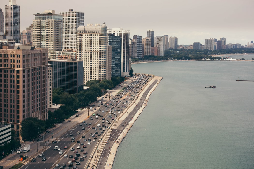 Lake Shore Drive, Chicago.