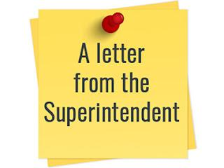 This is the image for the news article titled Welcome Back Letter from Superintendent Dr. Ayon